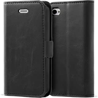 iPhone 4 / 4S Case,Mulbess Vintage Leather Wallet Case with TPU Inner Shell, Magnetized Closure, Card Slots Money Pouch and Stand Feature for Apple iPhone 4 / 4S,Black