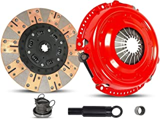 Clutch Kit Works With Dodge Dakota Jeep Cherokee Grand Cherokee Wrangler Rubicon Se Unlimited X Sahara Sport Classic Laredo Slt Base Orvis 1992-2006 3.9L V6 4.0L L6 GAS OHV (Dual Facing; Stage 2)