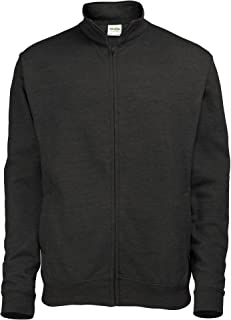 AWDis Mens Plain Fresher Full Zip Sweat/Sweatshirt/Outerwear