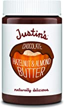 Justin's Chocolate Hazelnut and Almond Butter, Organic Cocoa, No Stir, Gluten-free, Responsibly Sourced, Packaging May Var...