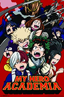 Trends International Hero Academia-Key Art 2 Wall Poster, 22.375