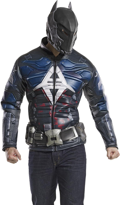 Rubie's Costume DC Max 75% OFF Comics Men's Knight Popular brand Costu Chest Muscle Arkham