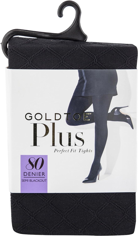 Gold Toe womens Semi Blackout Diamond Fashion Tights, 1 Pair