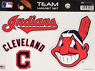 chief wahoo car magnet