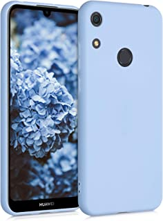 kwmobile TPU Case Compatible with Huawei Y6s (2019) - Soft Thin Slim Smooth Flexible Protective Phone Cover - Light Blue M...