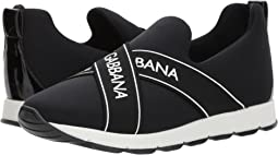 Dolce & Gabbana Kids - Black Sneaker(Big Kid)