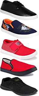 Shoefly Sports Running Shoes/Casual/Sneakers/Loafers Shoes for Men&Boys (Combo-(5)-1219-1221-1140-472-748)