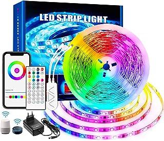 GreenSun DreamColor RGBIC 5 m Smart Light Strip Kleurverandering Muziek Strip met Wifi Controller Compatibel met APP, Alex...