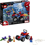 LEGO Marvel Spider-Man Car Chase 76133 Building Kit, Green Goblin and Spider Man Superhero Car...