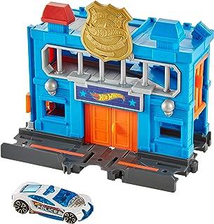 Hot Wheels City Downtown Police Station Breakout Play Set Frh28_frh33
