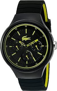 Lacoste Men's 2010867 Year-Round Analog Quartz Black Watch