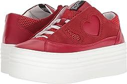 LOVE Moschino - Suede Platform Sneaker