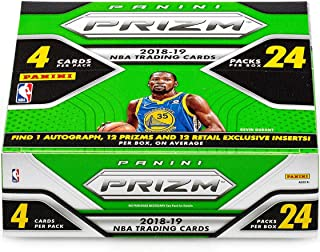 2018/2019 Panini PRIZM NBA Basketball HUGE EXCLUSIVE 24 Pack Retail Box with AUTOGRAPH,12 PRIZMS & 12 INSERTS! Look for Rookies & Autos of Luka Doncic, Deandre Ayton, Jaren Jackson Jr & More! WOWZZER!