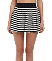 Kate Spade New York - Georgica Beach Stripes Cover-Up Skirt