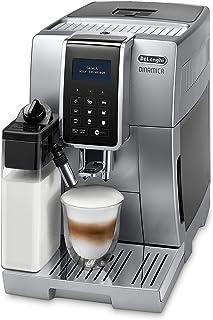 DeLonghi Dinamica ECAM 350.75.S tam otomatik kahve makineleri (1450Watt), gümüş/siyah