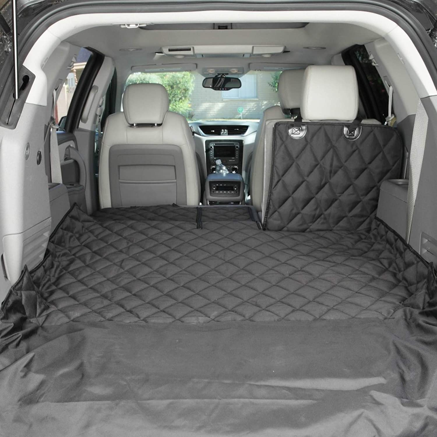 60//40 Split and Armrest Pass-Through Compatible 4Knines SUV Cargo Liner for Fold Down Seats USA Based Company