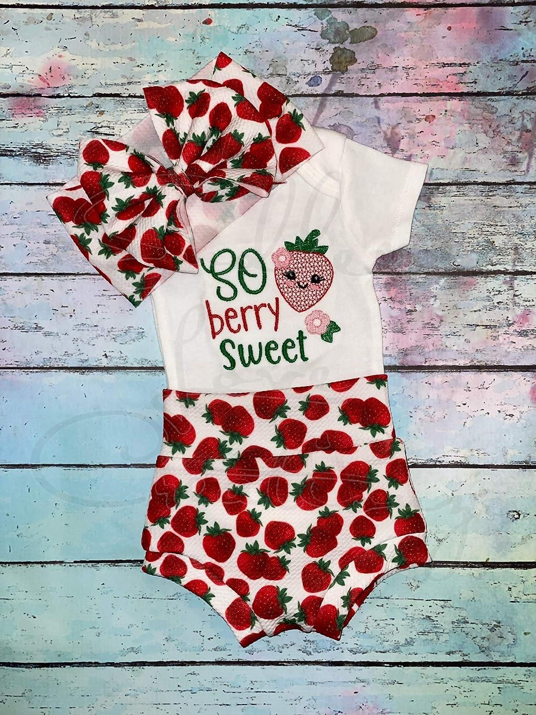 safety Infant Strawberry Phoenix Mall Bummie Set