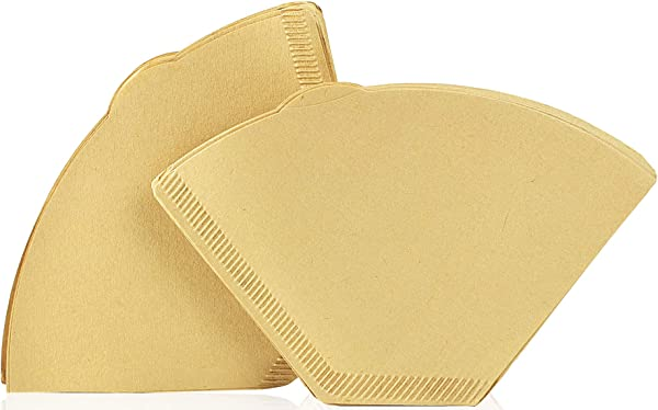 2 Cone Coffee Filters Natural Unbleached 300
