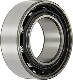 SKF 3211 A Double Row Ball Bearing, Standard Capacity, Converging Angle Design, 30° Contact Angle, ABEC 1 Precision, Open, Steel Cage, Normal Clearance, 55mm Bore, 100mm OD, 1 5/16
