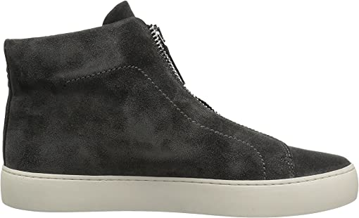 Charcoal Soft Oiled Suede