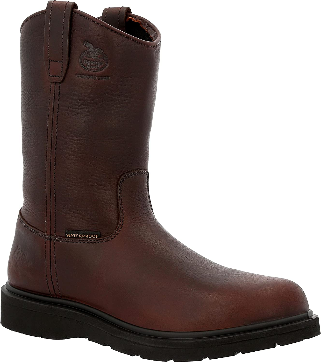 Georgia Boot Suspension Wedge 70% OFF Outlet Waterproof On Tampa Mall Pull