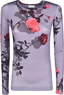DRIES VAN NOTEN Luxury Fashion Womens 111538618901 Purple T-Shirt | Fall Winter 19