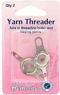 Yarn Threader Hemline Needle Threader for Sewing Stitching Wool Threader