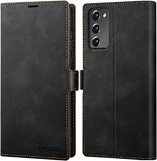 HPDUNO Samsung S20 FE Case, Samsung Galaxy S20 FE Flip Wallet Case PU Leather with Card Holder, Magnetic Buckle, TPU Inner...