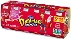Danimals Smoothies, Wild Watermelon/Strawberry Explosion, 12 oz