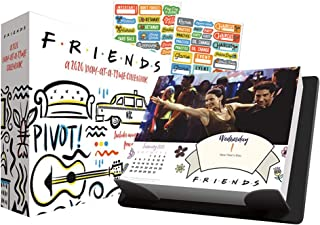 Friends 2020 Calendar, Box Edition Set - Deluxe 2020 Friends Day-at-a-Time Box Calendar with Over 100 Calendar Stickers (Friends Gifts, Office Supplies)