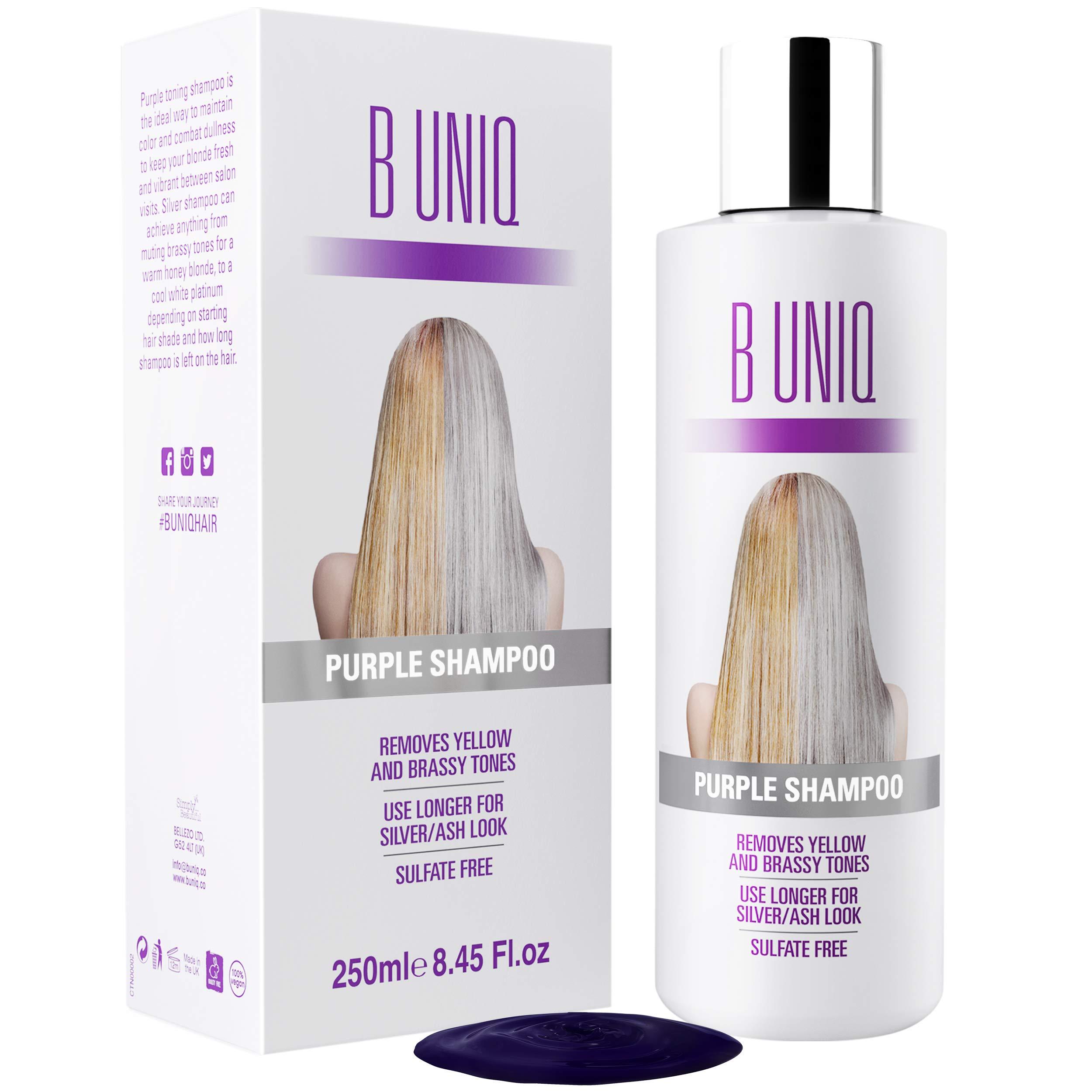 Purple Shampoo Uniq Revitalize Highlighted