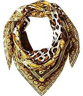 Versace - Leopard Print Scarf
