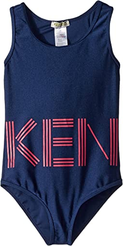 Kenzo Kids - Swimsuit Logo (Toddler/Little Kids)