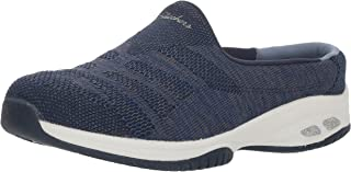 Skechers Women's Commute-Knitastic-Engineered Knit Open Back Mule