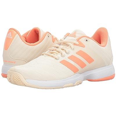 adidas Barricade Court (Ecru Tint/Chalk Coral/Footwear White) Women