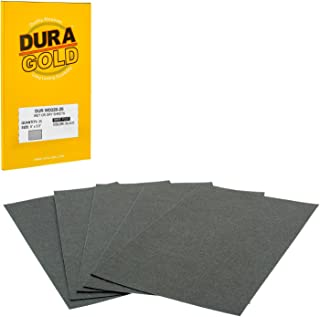 Dura-Gold - Premium - Wet or Dry - 220 Grit - Professional Cut to 5-1/2