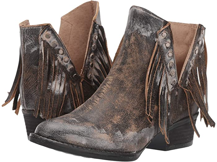 Corral Boots Q5089 Fringe Ankle Booties