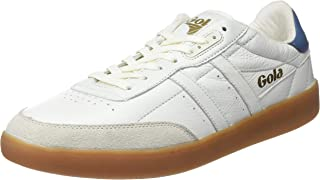 Gola Inca Leather off White/Baltic/Gum, Sneaker Uomo