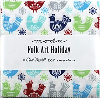 moda folk art holiday