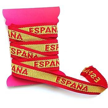 Cintas de bandera España, 12m, HC Enterprise: Amazon.es: Hogar