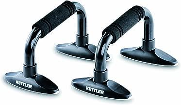 Kettler KR7371540 Push Up Bar, Black -2 Pcs