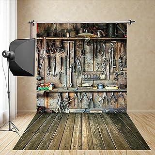 FiVan™-Sp 150x250cm Papas niño apoyos de la fotografía de estudio Garaje bufanda de seda de imitación photography Fotografía FT-4364