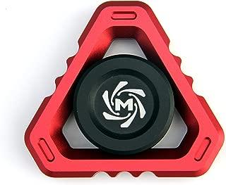 Mechforce - Deltacore Long Fidget Spinner, Aluminum (Red)
