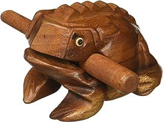 "Deluxe Medium 4"" Wood Frog Guiro Rasp - Musical Instrument Tone Block"