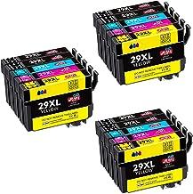 JIMIGO 29XL Alta Capacidad Cartuchos de Tinta para Epson 29,15 Multipack Compatible con Epson Expression Home XP-235 XP-245 XP-247 XP-255 XP-332 XP-335 XP-355 XP-342 XP-345 XP-432 XP-442 XP-445