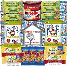 Healthy Snacks Care Package (30 Count) With Skinny Pop, Nature Valley, Nutella, Welch's Fruit Snacks, Lifesaver Mints, Peanuts, Belvita: Gift Basket for School, Kids, Women, Men, Girls and Adults