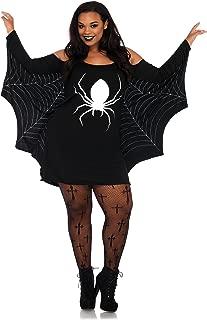 Leg Avenue Women's Spiderweb Casual Halloween Jersey Dress