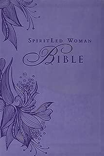MEV Bible SpiritLed Woman Lavender Leatherlike: Modern English Version