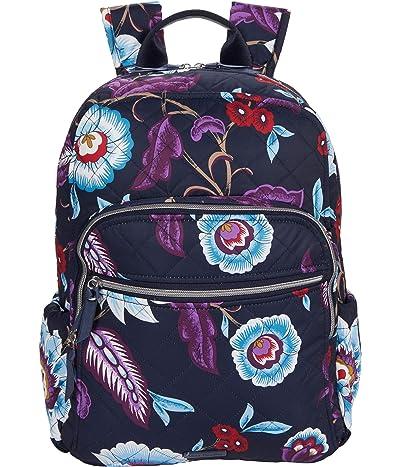 Vera Bradley Performance Twill Campus Backpack (Mayfair in Bloom) Backpack Bags