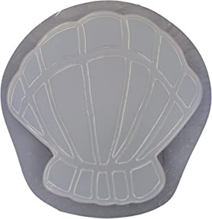 Seashell Stepping Stone Concrete Plaster Mold 1035